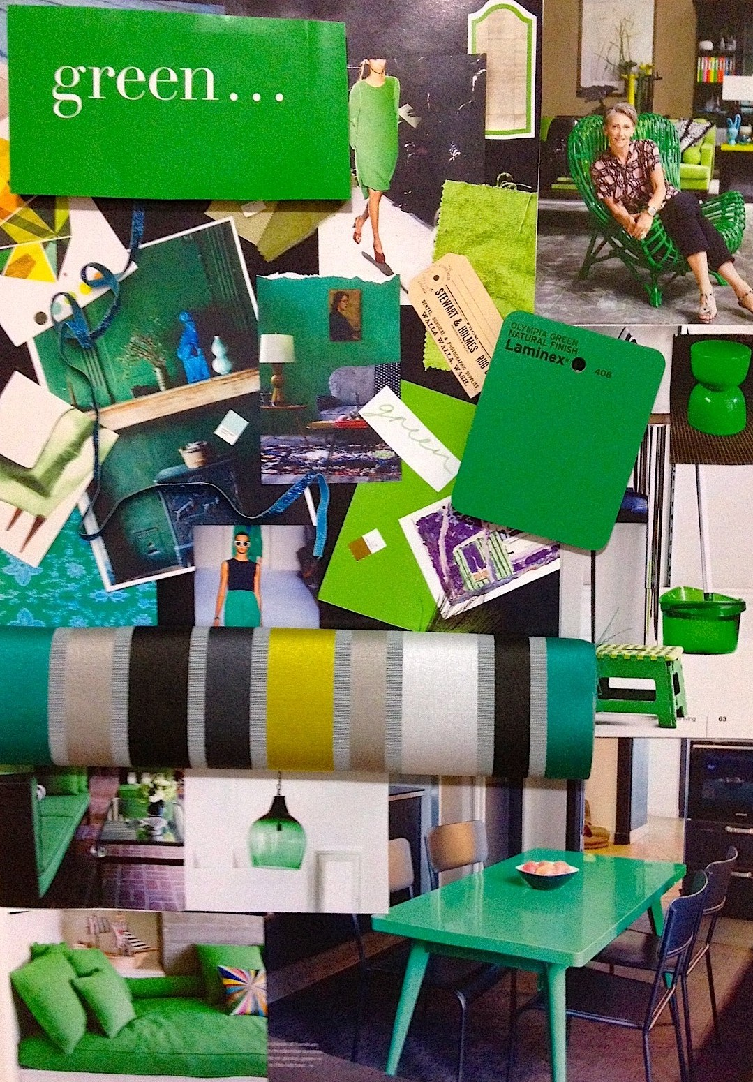 April Mood Board It 39 S Mean To Be Green Von Haus